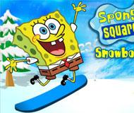 Spongebob Snowboard Rider