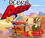 Wile E. Coyote Debris Derby