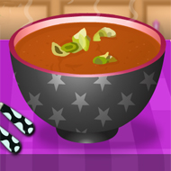 Abundance Tomato Soup With Basil Oil