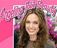 Angelina Jolie Beauty Puzzle
