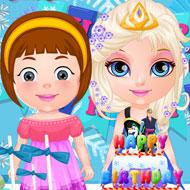 Baby Barbie Frozen Party