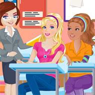 Barbie Class Slacking