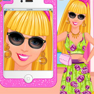 Barbie's Selfie Makeup Design