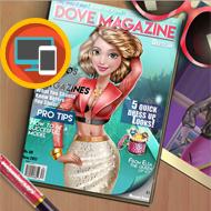 Dove Magazine Dolly Dress Up