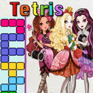 Ever After High Tetris