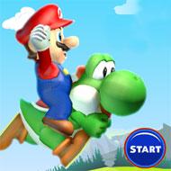 Flappy Mario and Yoshi