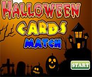 Halloween Cards Match