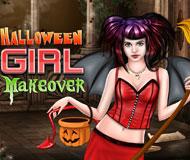 Halloween Girl Makeover