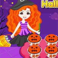Jack O' Lantern Halloween Cupcake