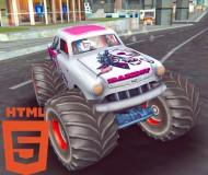 Monster Truck Stunts Free Jeep