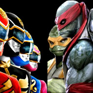 Ninja Turtles vs Power Rangers