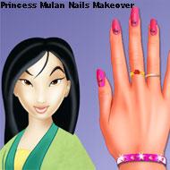 Princess Mulan Nails Makeover
