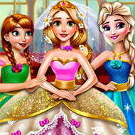 Rapunzel Princess Wedding