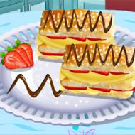 Sara's Cooking Class Napoleon Pastries