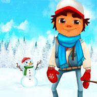 Subway Surfer Winter Adventure