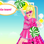 Super Barbie Cheerleader