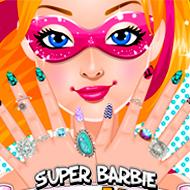 Super Barbie Super Nails