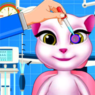 Talking Angela Eye Treatment