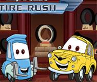 Luigi and Guido's Tire Rush